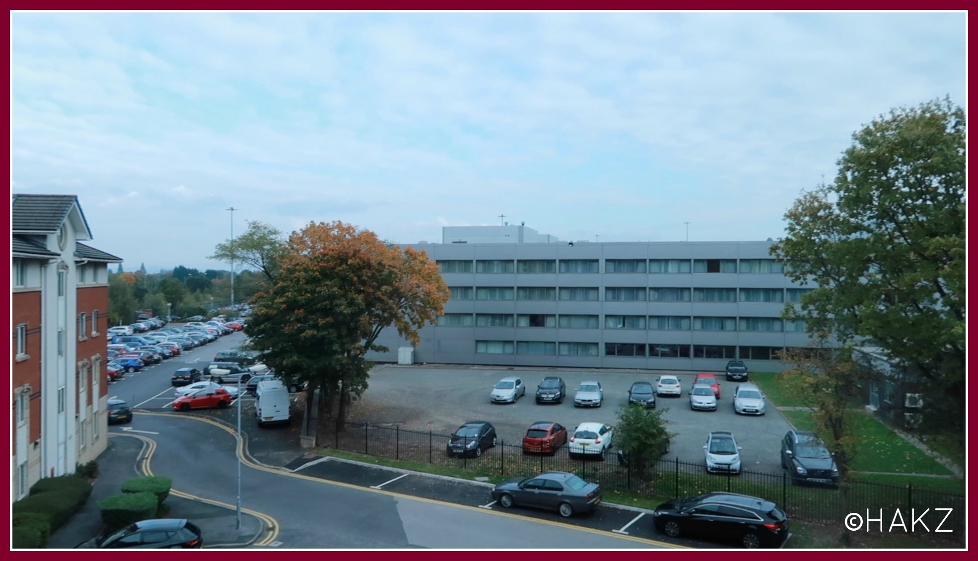Manchester Airport hotel and parking: Clayton Hotel Manchester Airport view