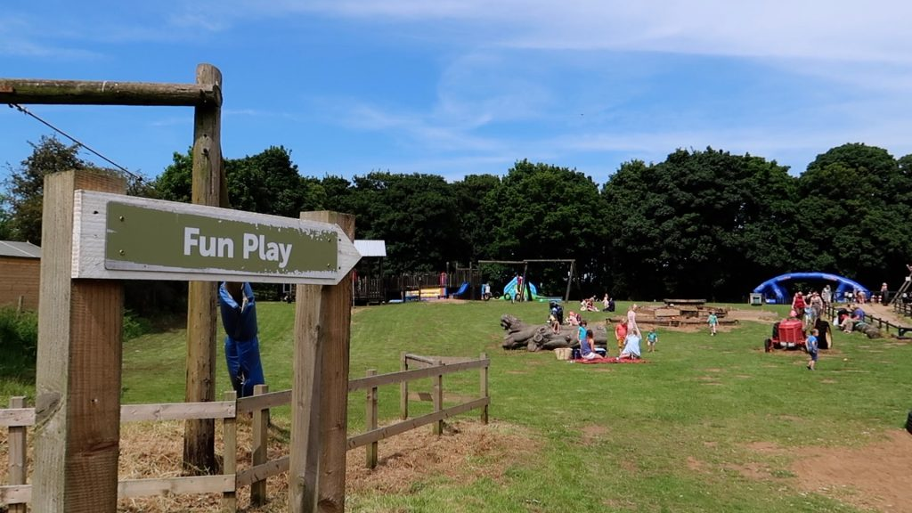 Things to do in Lincolnshire | The Pink Pig Farm, Holme near Scunthorpe fun play field