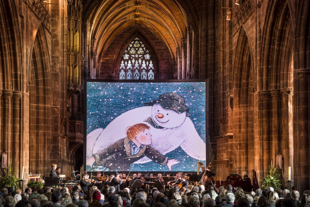 The Snowman with Live Orchestra | things to do at Christmas