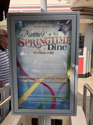 Our 2018 Disney Dining reservations (Hubby style!!)