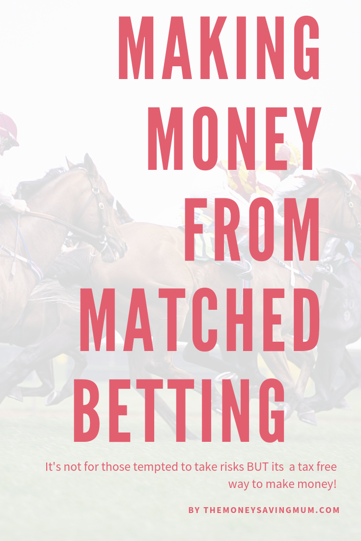 How to make money matched betting