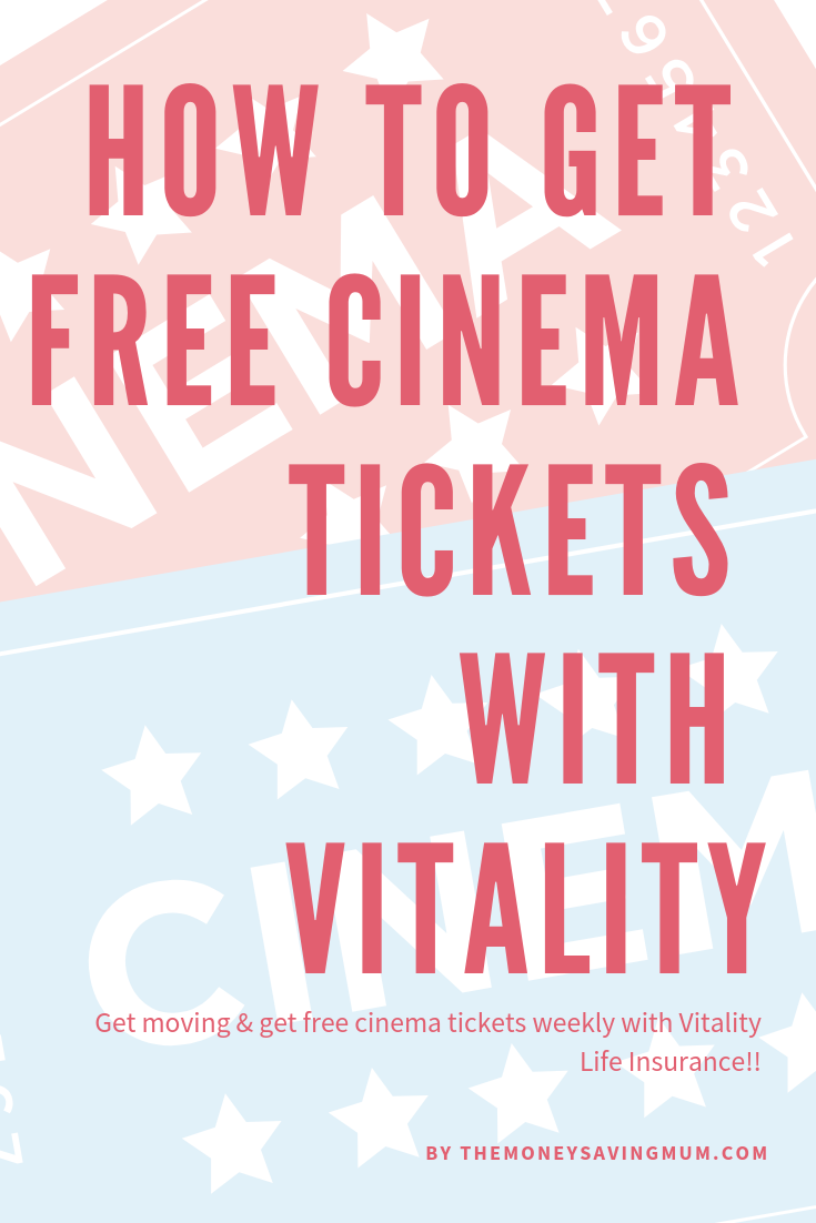 How to get free cinema tickets with vitality