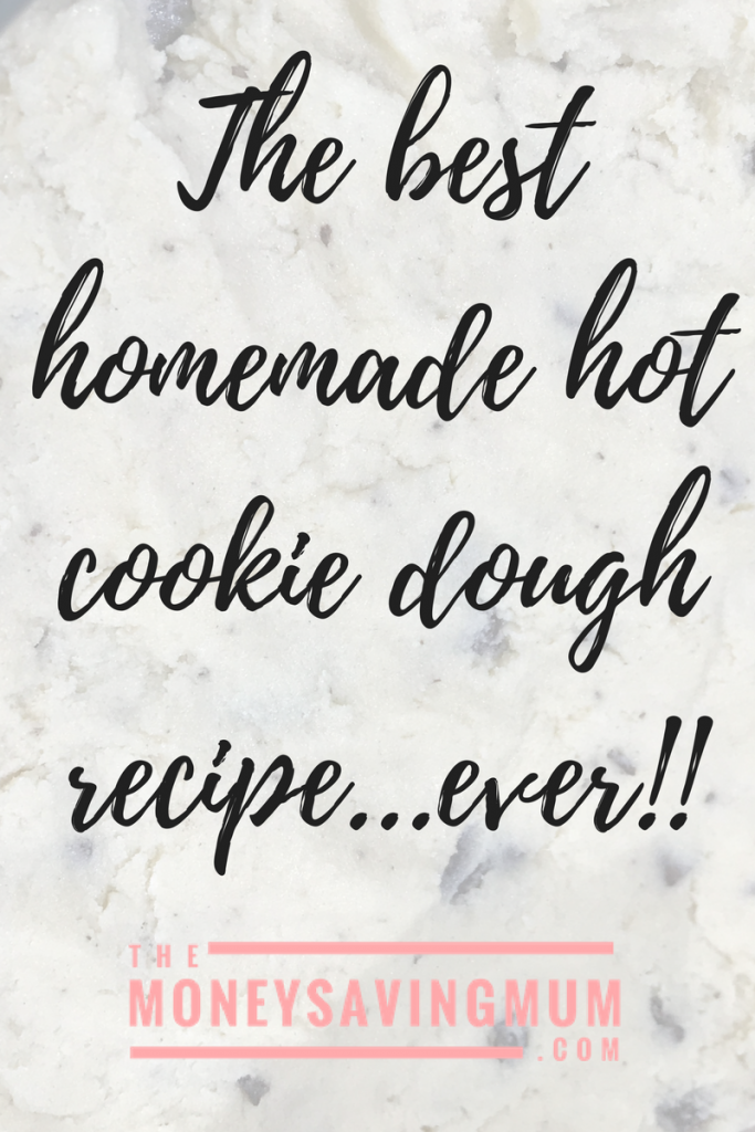 The best hot cookie dough... ever !