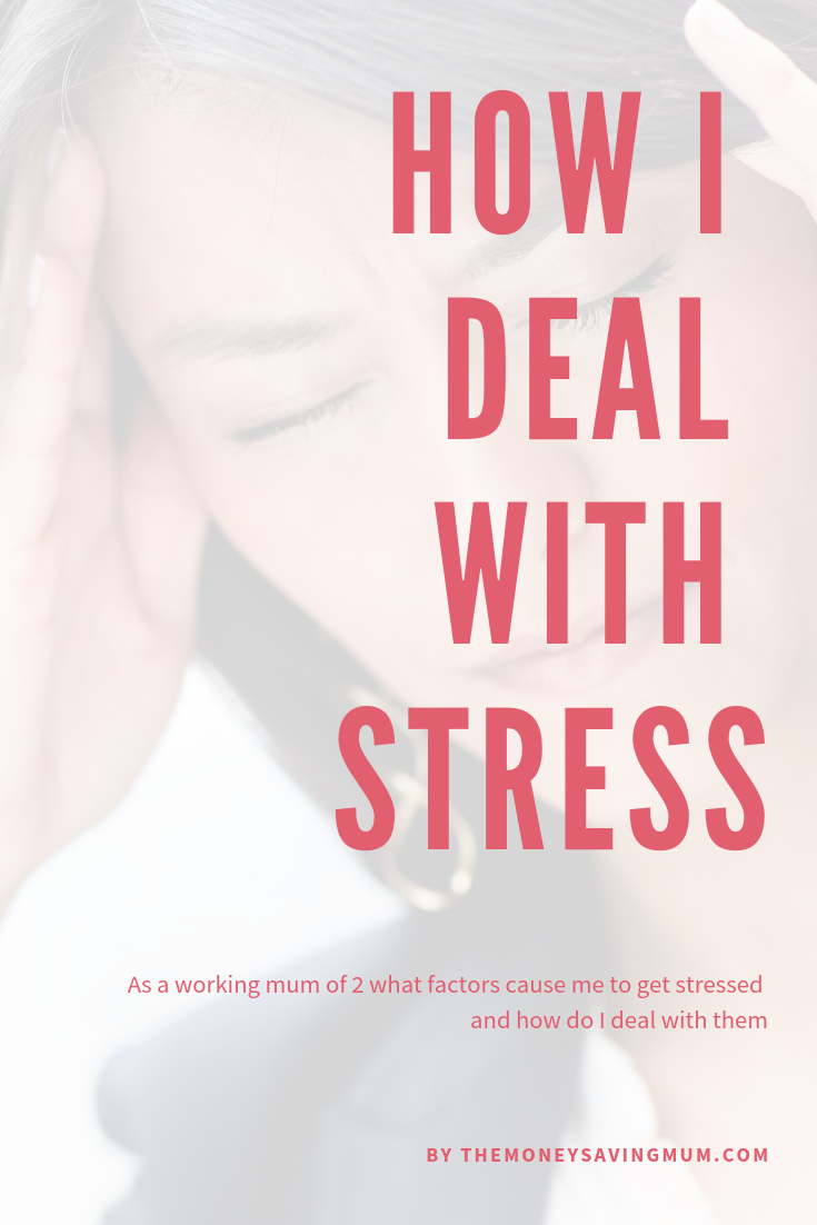 Stress awareness how I deal with stress