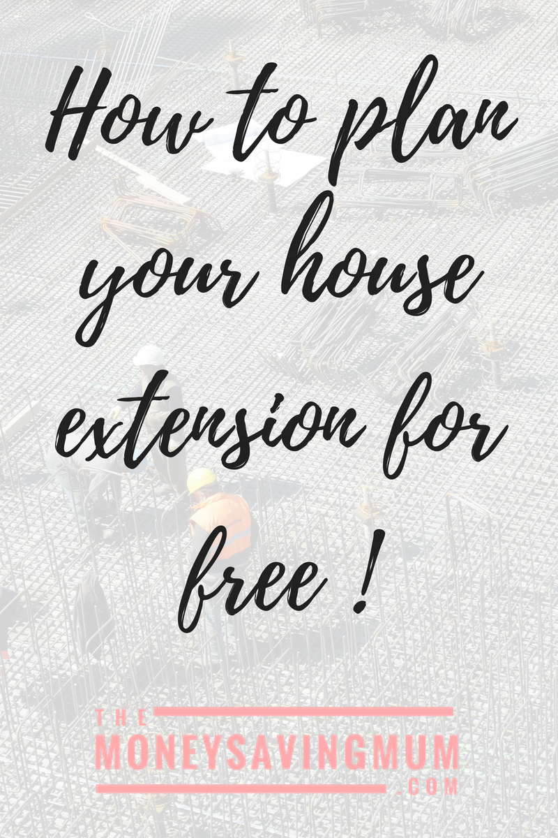Plan your house extension for free!
