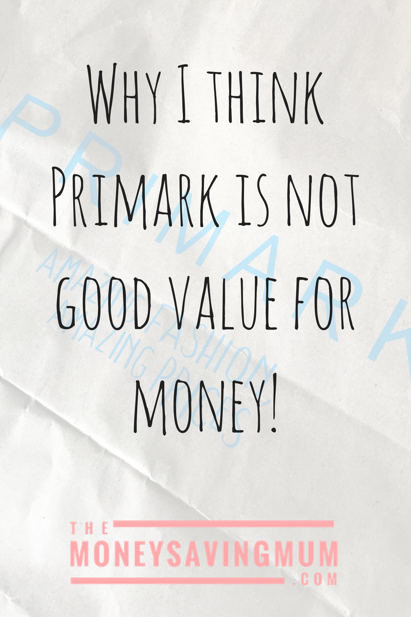 s Primark really that good value for money?