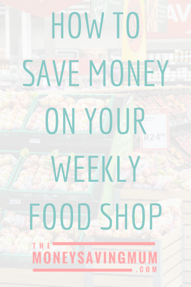 How I'm planning on saving money on our food shop