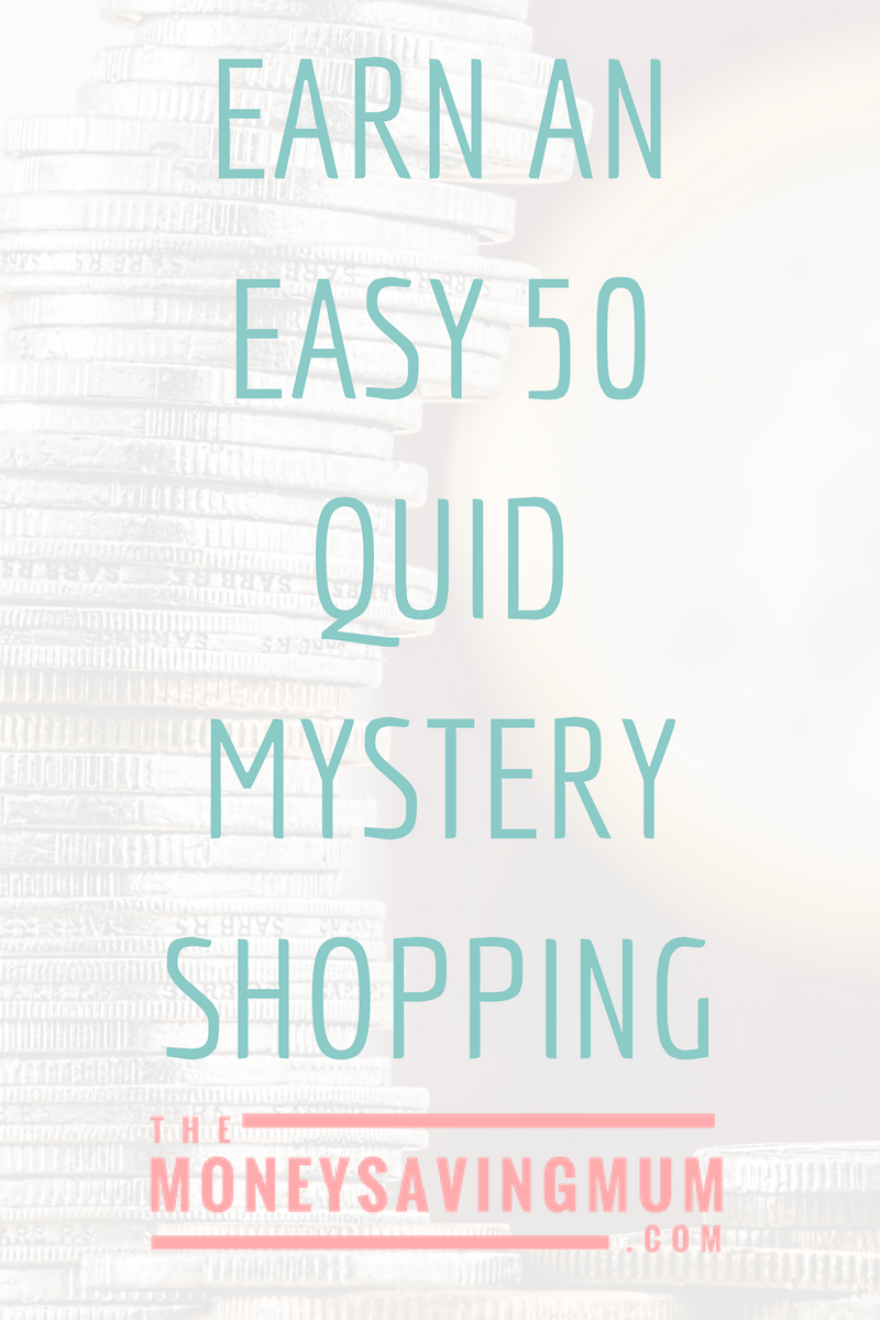 Mystery shopping... for cash!