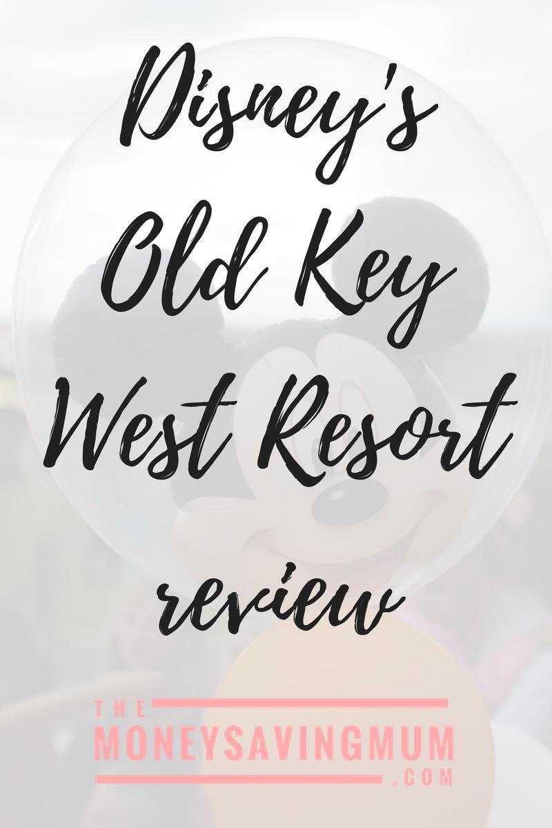 Walt Disney's Old Key West resort  review
