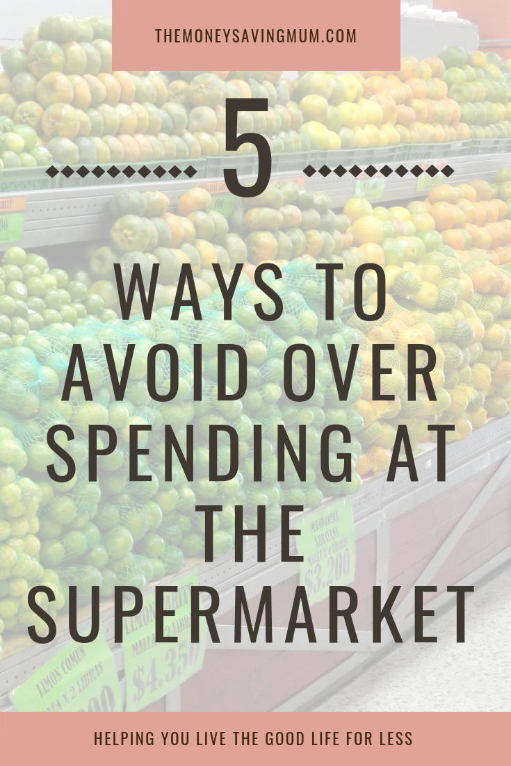 How to avoid over spending at the supermarket