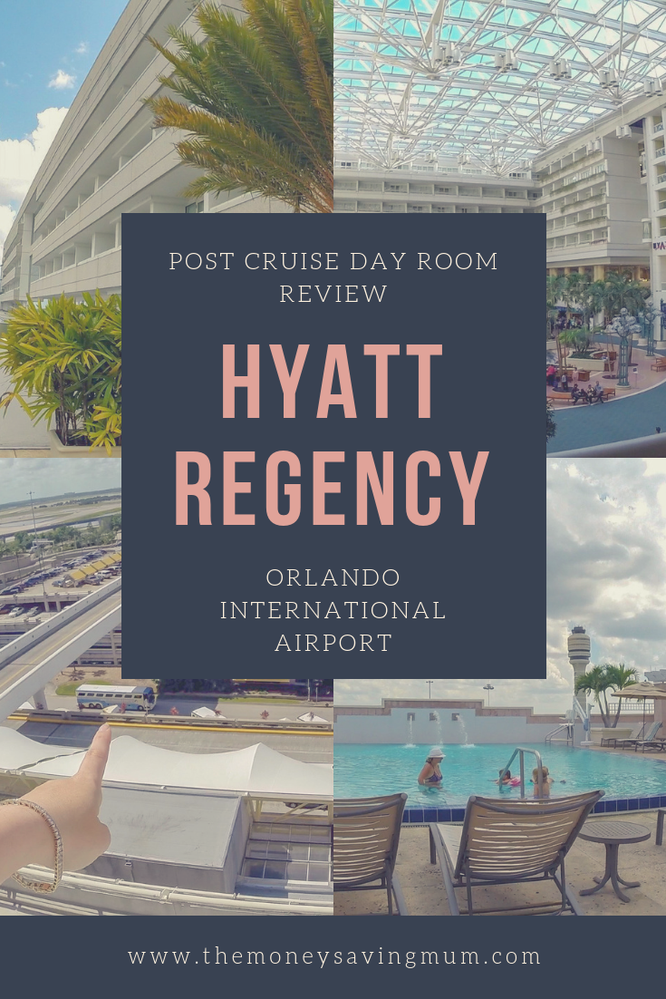 Post cruise day room review of Hyatt Regency Orlando International Airport