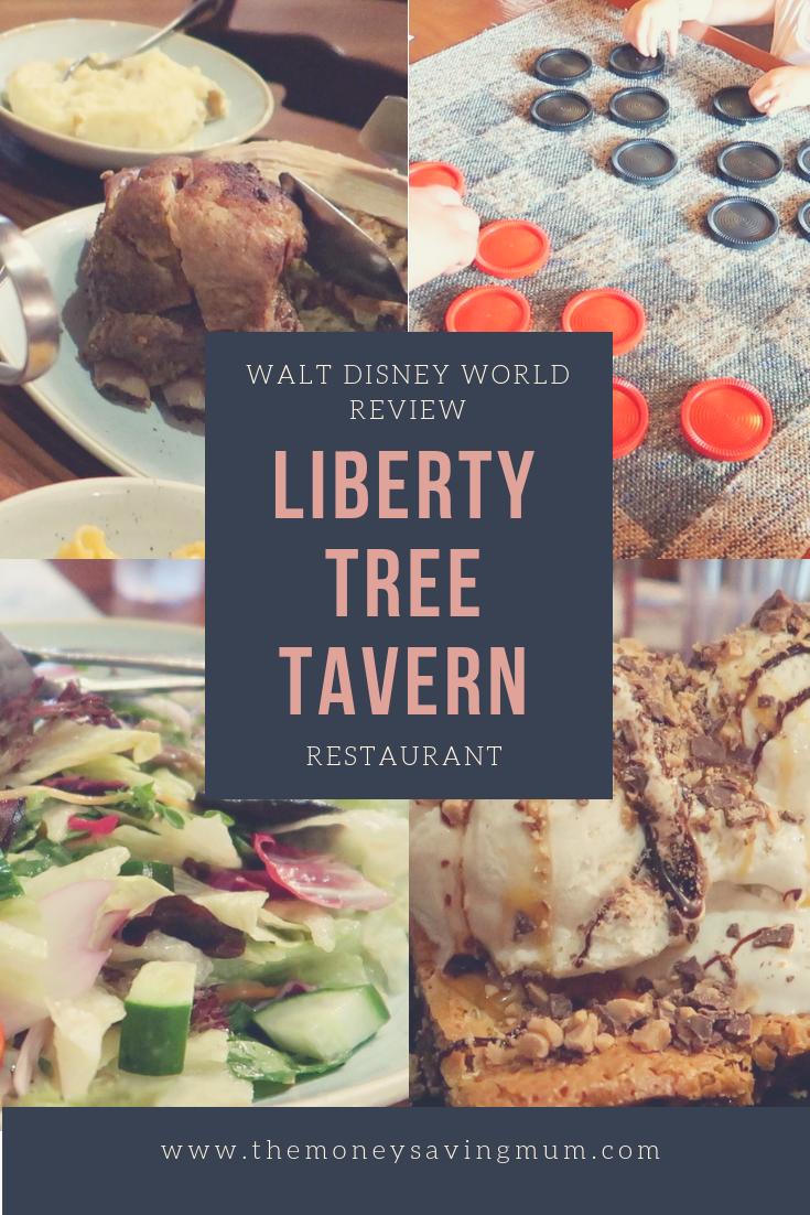 Liberty Tree Tavern dinner review | Magic Kingdom | Walt Disney World