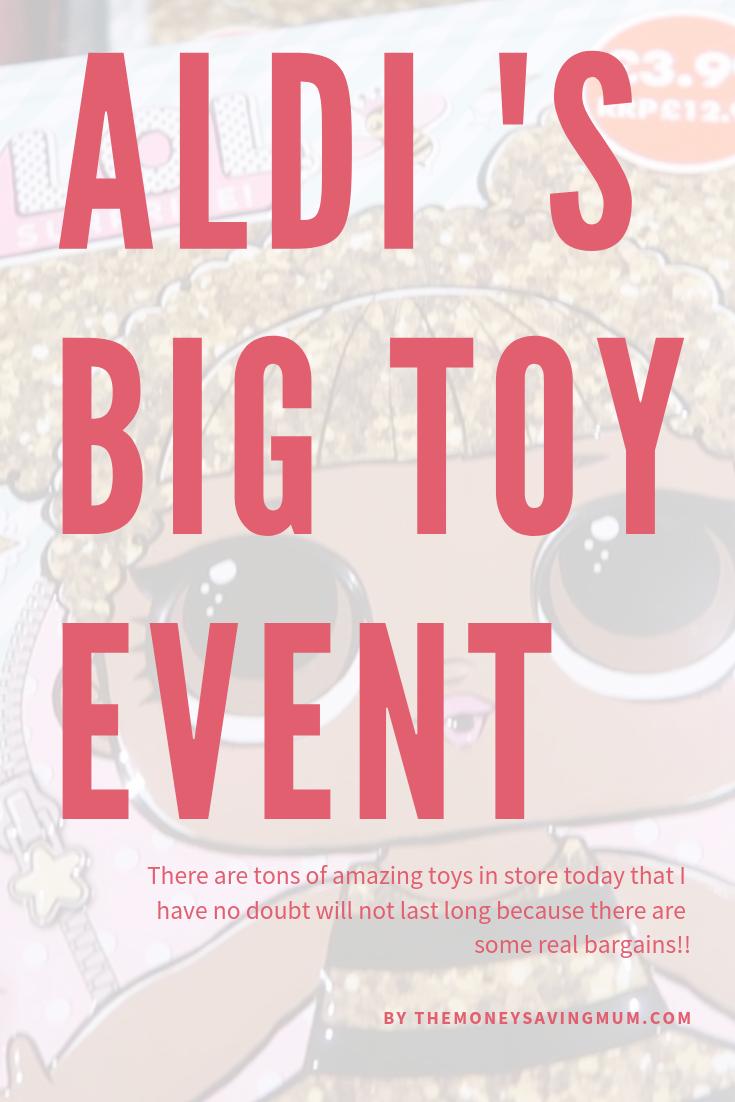 Aldi's Big Toy event starts today!