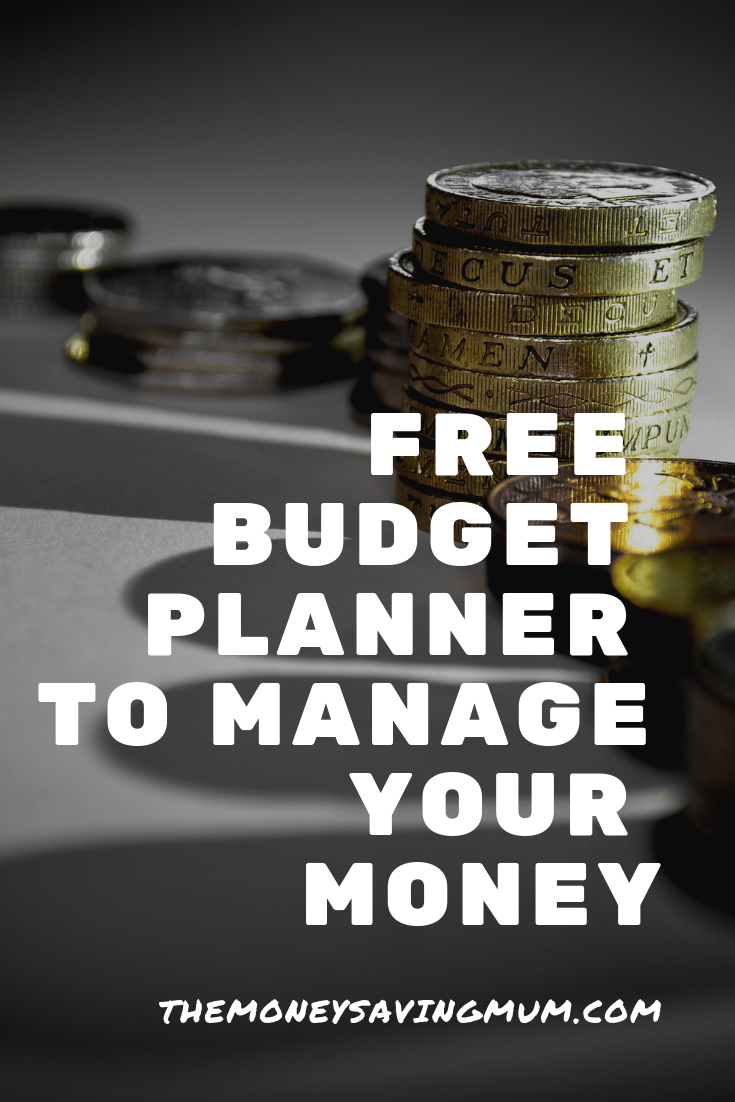 Free budget planner & step one to financially surviving January