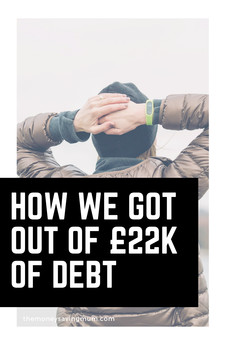 6 steps we took to paying off £22k off debt | post christmas debt tips