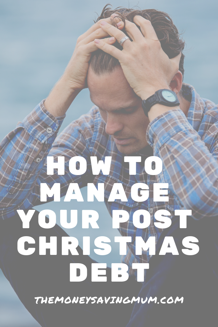 5 ways to manage your debt | post-christmas debt tips