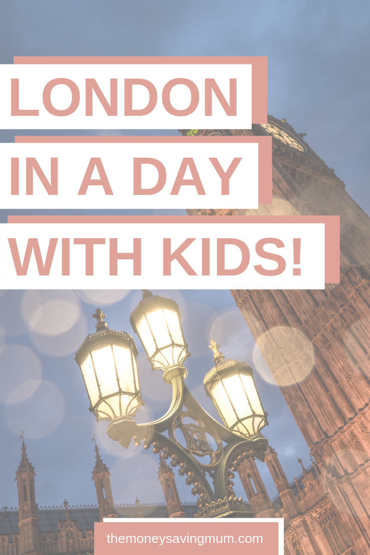 London in a day - FREE things to do in London with children