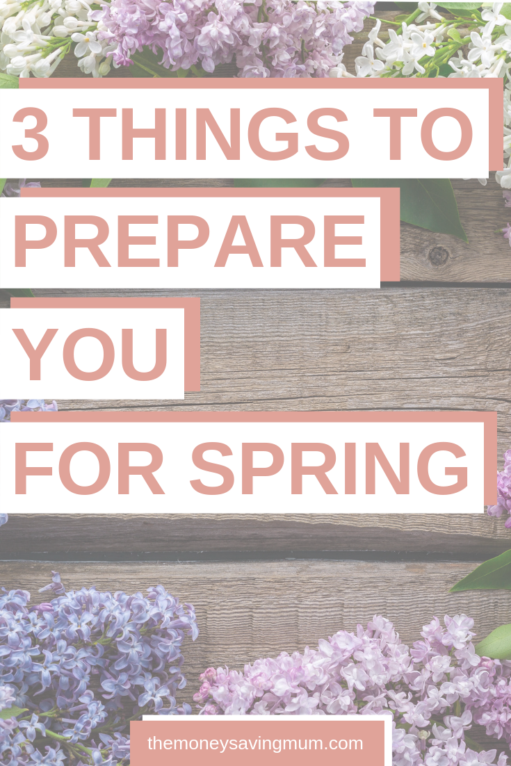 3 things to do in preparation for the first day of Spring