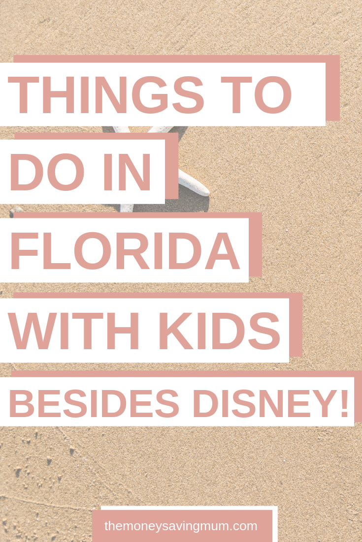 Top 5 things to do in Florida with kids (besides Disney!)