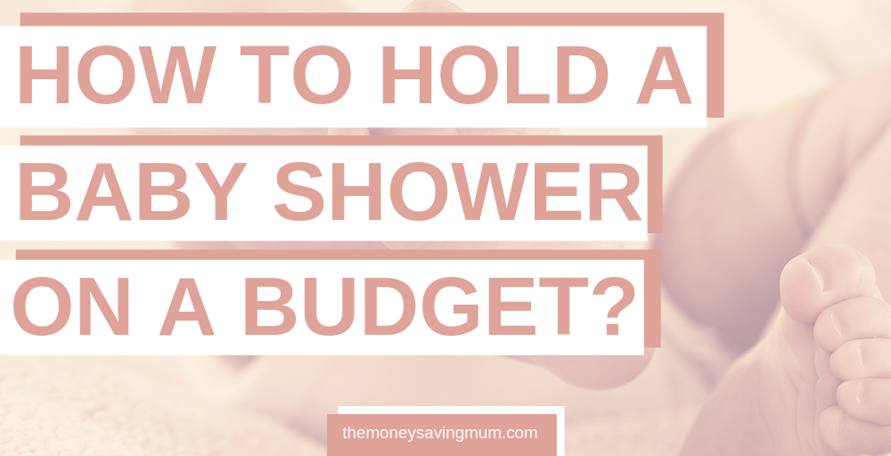 Baby showers don't need to be expensive to be super fun.. check out these hints and tips on how to hold a baby shower on a budget | picture of favours