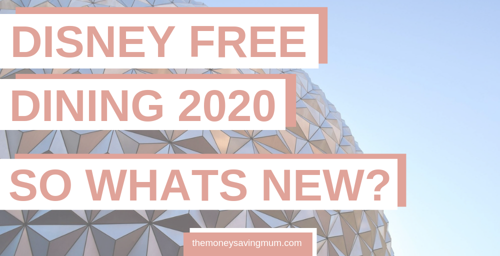 Everything we know about Disney Free Dining 2020!
