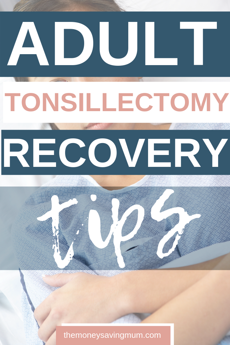 Tonsil removal & my tonsillectomy recovery...